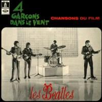 4 Garçons Dans Le Vent LP artwork – France
