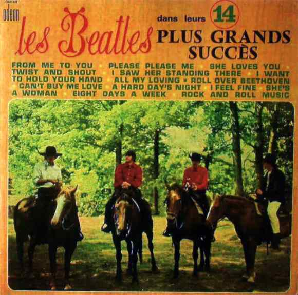 Les Beatles Dans Leurs 14 Plus Grands Succès album artwork - France