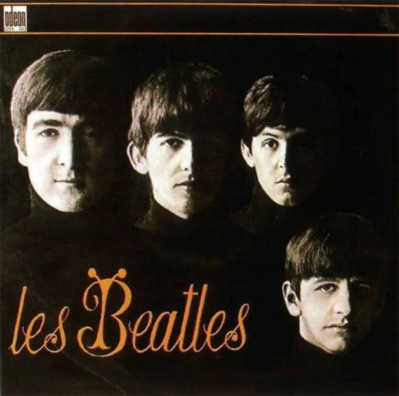 Les Beatles album artwork - France