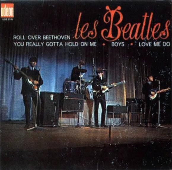 Roll Over Beethoven EP artwork - France