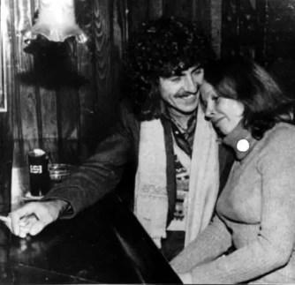 George Harrison and Astrid Kirchherr