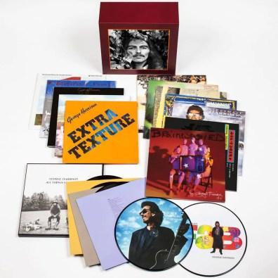 George Harrison Vinyl Collection box set contents