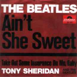 Ain't She Sweet single artwork - Germany