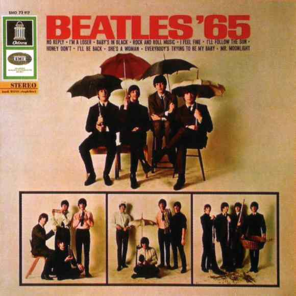 Beatles '65 album artwork - Germany