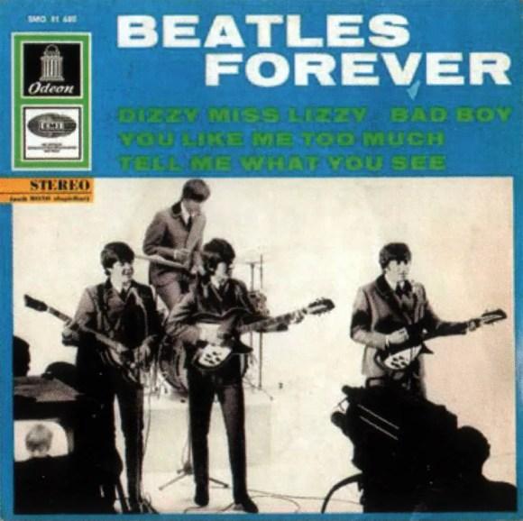 Beatles Forever EP artwork - Denmark, Germany