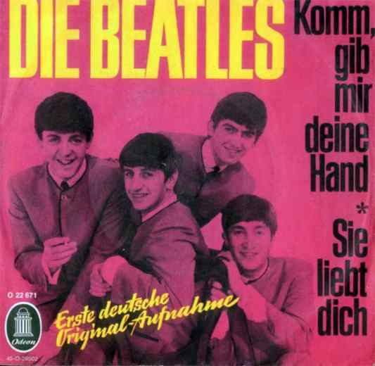 Komm, Gib Mir Deine Hand single artwork - Germany