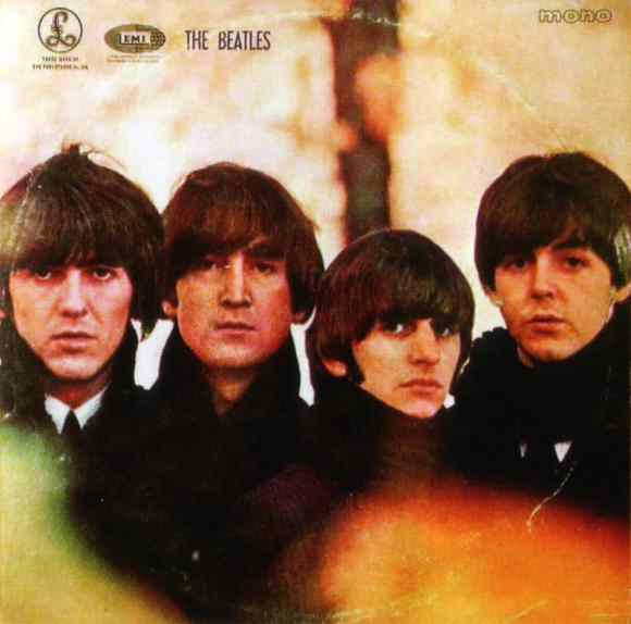 Beatles For Sale album artwork – Greece