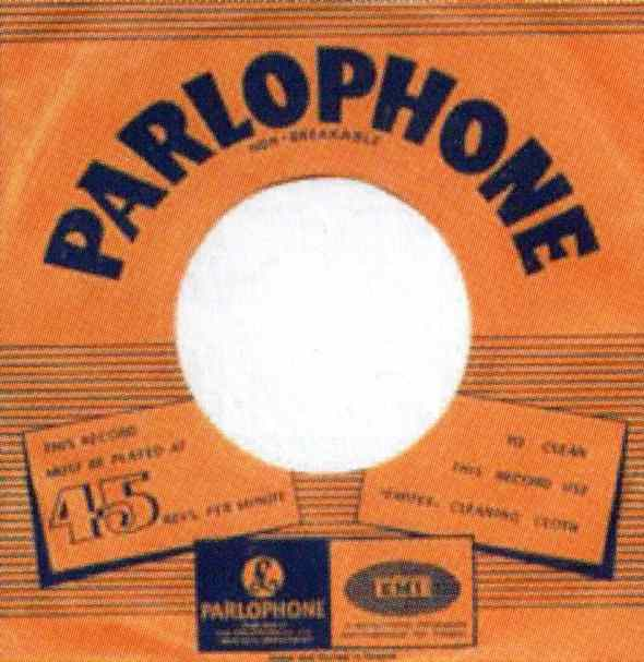 EMI single sleeve, 1968-70 - Greece