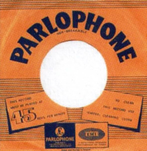 EMI single sleeve, 1968-70 – Greece