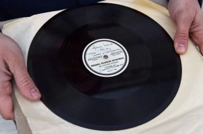 The Beatles' Hello Little Girl acetate record (HMV)