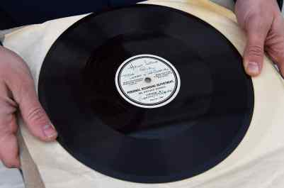 The Beatles' Hello Little Girl acetate record (HMV)