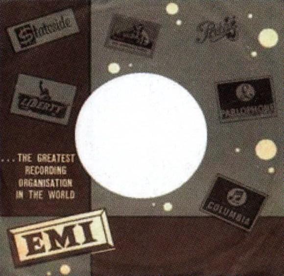EMI single sleeve - Israel
