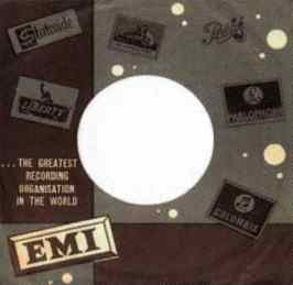 EMI single sleeve - Israel
