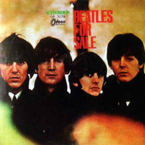 Beatles For Sale album artwork – Japan