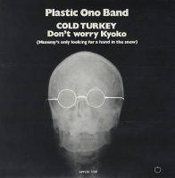Plastic Ono Band - Cold Turkey single artwork