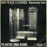 Give Peace A Chance single artwork – John Lennon/Plastic Ono Band