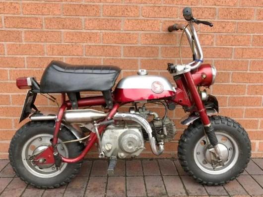 John Lennon's Honda Monkey Bike