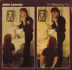 I'm Stepping Out single artwork - John Lennon