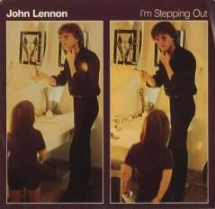 I'm Stepping Out single artwork - John Lennon