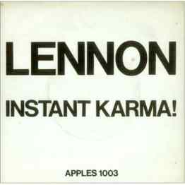 Instant Karma! single artwork - John Lennon/Plastic Ono Band