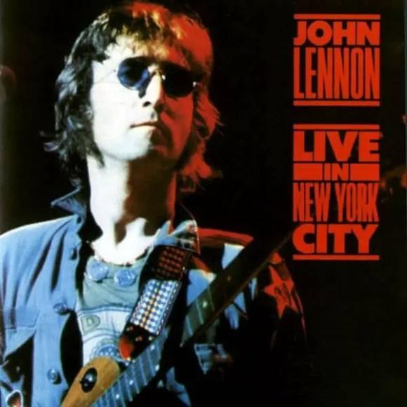 Live In New York City album artwork - John Lennon