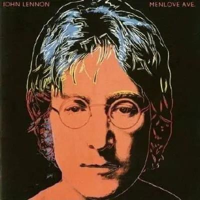 Menlove Ave album artwork – John Lennon