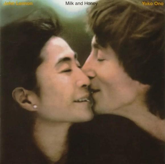 Milk And Honey album artwork - John Lennon and Yoko Ono