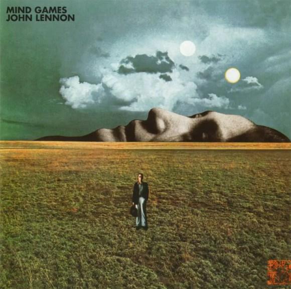 Mind Games album artwork - John Lennon