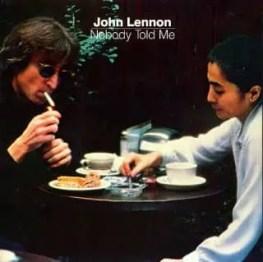Nobody Told Me single artwork - John Lennon