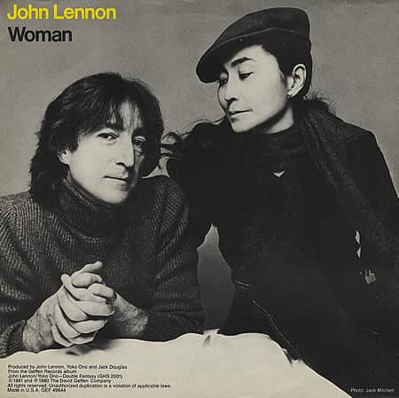 Woman single artwork - John Lennon