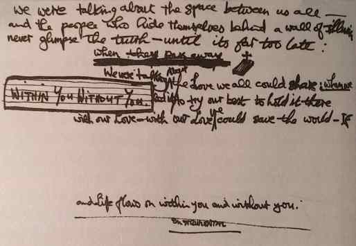 George Harrison's lyrics for Within You Without You
