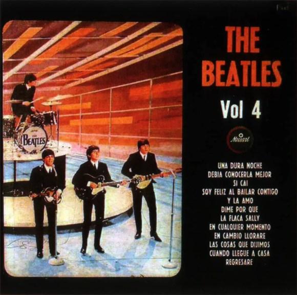 The Beatles Vol. 4 album artwork - Mexico