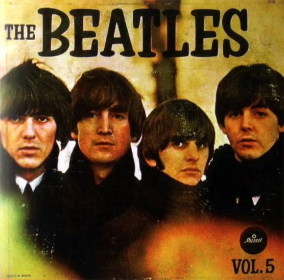 The Beatles Vol. 5 album artwork - Mexico