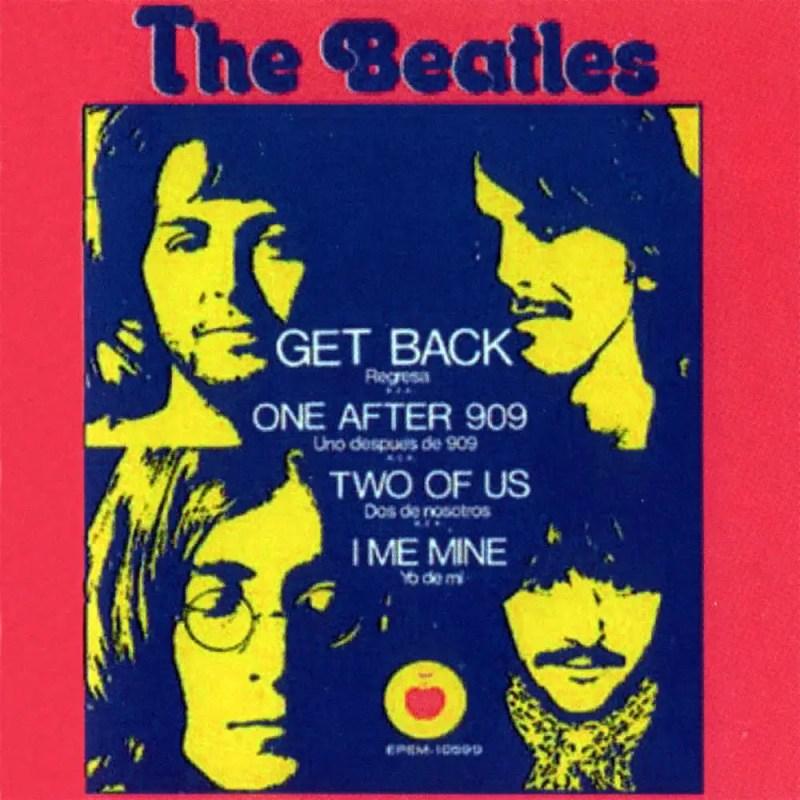 Get Back EP artwork - Mexico