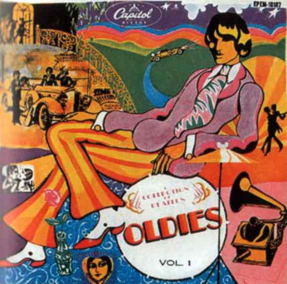 A Collection Of Beatles Oldies Vol. 1 EP artwork - Mexico