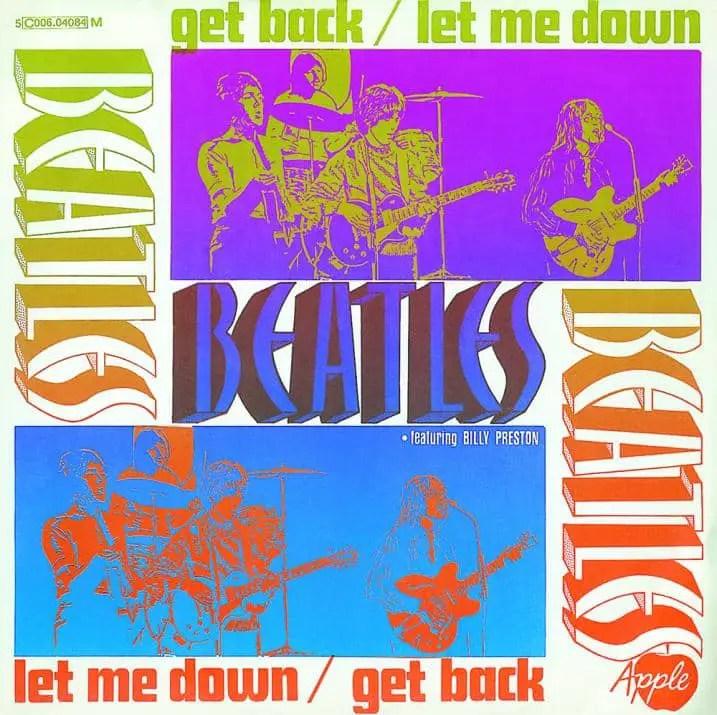 Get Back single artwork - Netherlands
