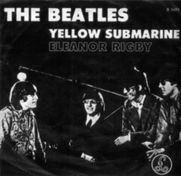 Yellow Submarine/Eleanor Rigby single artwork - Netherlands