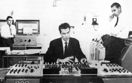 Norman Smith and George Martin