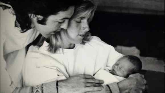 Paul, Linda and Mary McCartney