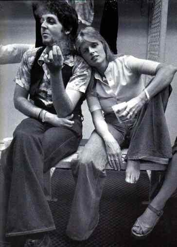 Paul and Linda McCartney, 1976