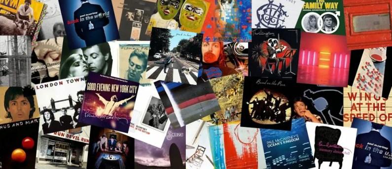 Paul McCartney albums montage