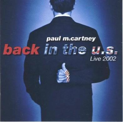 Back In The US album artwork - Paul McCartney