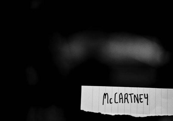 Paul McCartney–social media photograph, 2018