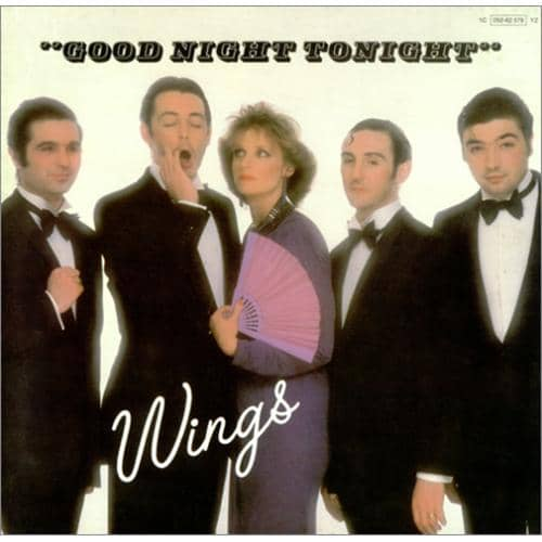 Goodnight Tonight single artwork - Wings
