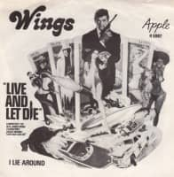 Live And Let Die single artwork - Wings