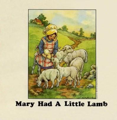 Mary Had A Little Lamb single artwork - Wings
