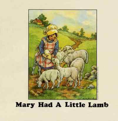 Mary Had A Little Lamb single artwork - Wings