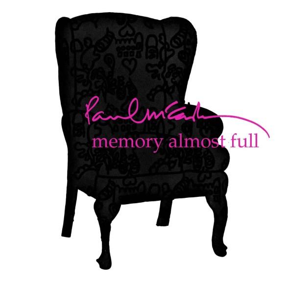 Memory Almost Full album artwork - Paul McCartney