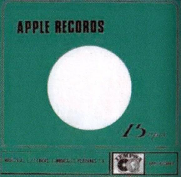 Apple Records single sleeve - Peru