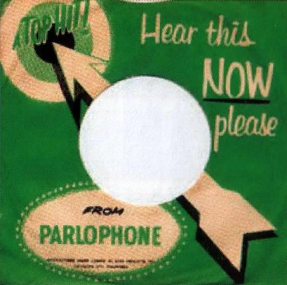 Parlophone single sleeve - Philippines